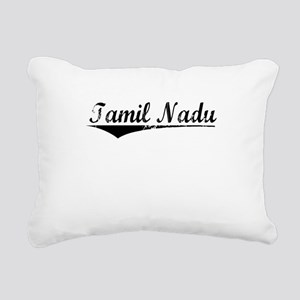 Tamil Nadu, Aged, Rectangular Canvas Pillow