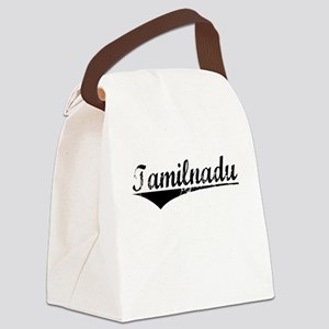 Tamilnadu, Aged, Canvas Lunch Bag