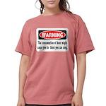 FIN-warning-beer-sing.png Womens Comfort Colors Sh