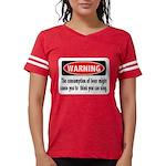 FIN-warning-beer-sing.png Womens Football Shirt