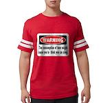 FIN-warning-beer-sing.png Mens Football Shirt