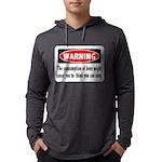 FIN-warning-beer-sing.png Mens Hooded Shirt