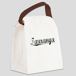 Tauranga, Aged, Canvas Lunch Bag
