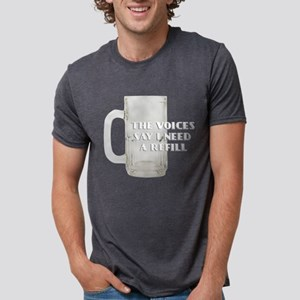 FIN-voices-need-ref... Mens Tri-blend T-Shirt