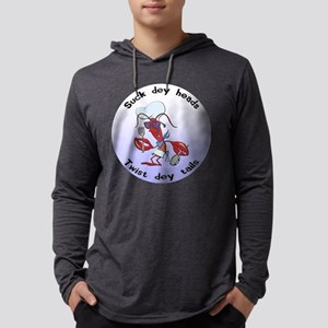 FIN-suck-heads-twist-tails Mens Hooded Shirt