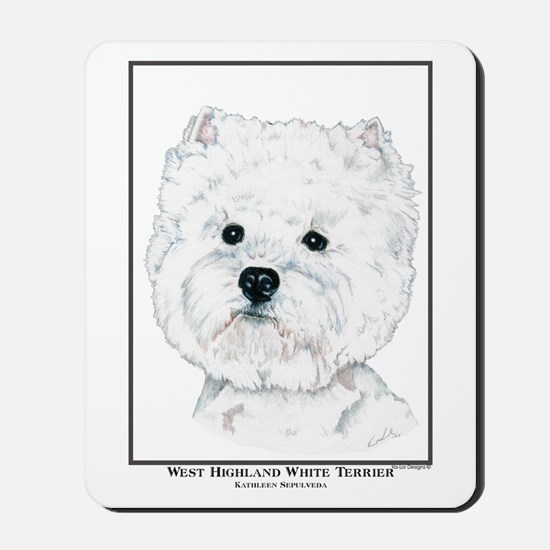 West Highland White Terrier Edition Mousepad