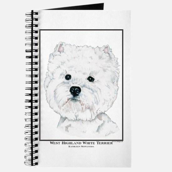 West Highland White Terrier Edition Journal