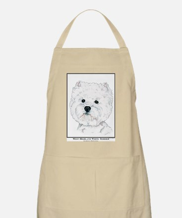 West Highland White Terrier Edition BBQ Apron