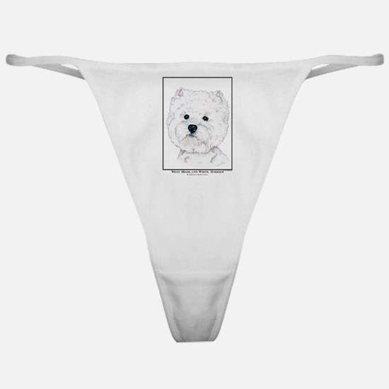 West Highland White Terrier Edition Classic Thong