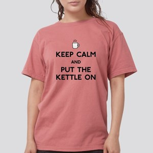 FIN-keep-calm-kettle-on Womens Comfort Colors