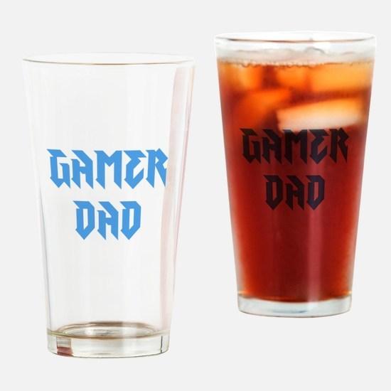 Gamer Dad Drinking Glass