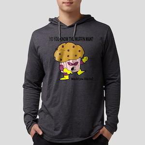 Muffin Man Mens Hooded Shirt