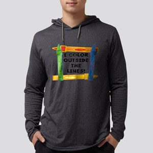 FIN-color-outside-lines Mens Hooded Shirt