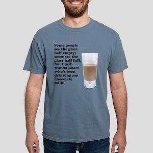 FIN-chocolate-milk Mens Comfort Colors Shirt