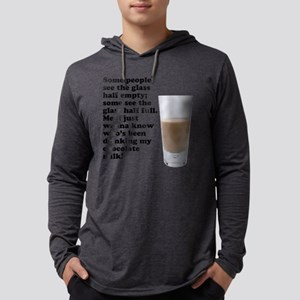 FIN-chocolate-milk Mens Hooded Shirt