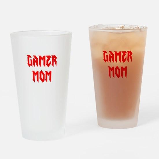 Gamer Mom Drinking Glass