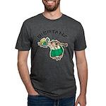 Biertanz Oktoberfest Mens Tri-blend T-Shirt