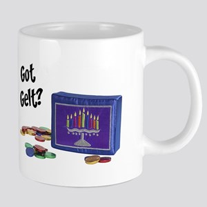 FIN-got-gelt 20 oz Ceramic Mega Mug