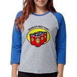 Father's Day Womens Baseball Tee