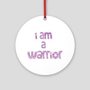 Deco Warrior Ornament (Round)
