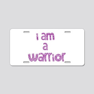 Deco Warrior Aluminum License Plate