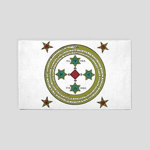 The Circle of Solomon 3'x5' Area Rug