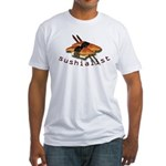 humorous sushi Fitted T-Shirt