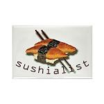 humorous sushi Rectangle Magnet (100 pack)