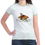 humorous sushi Jr. Ringer T-Shirt