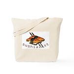 humorous sushi Tote Bag