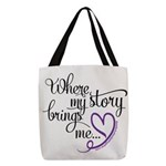 2021 Event - Author Names Polyester Tote Bag