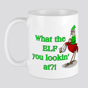 Elf You Lookin At Mug