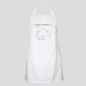 Blonde Geometry Apron