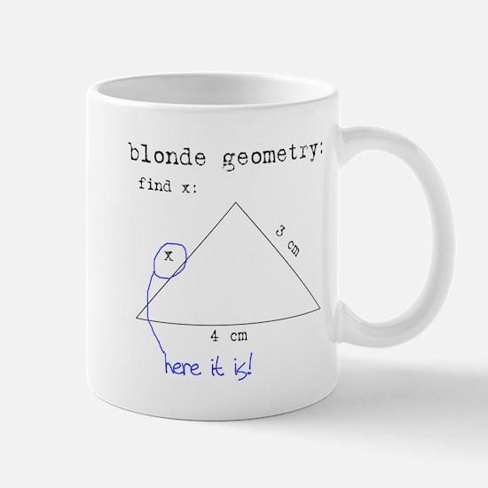 Blonde Geometry Mug