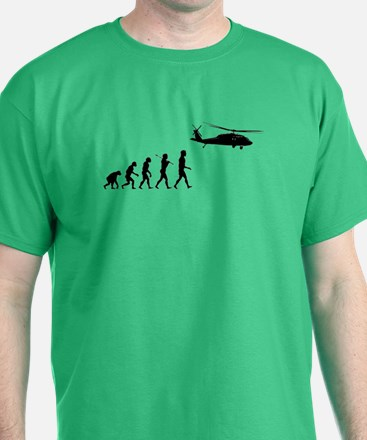 Helicopter Evolution T-Shirt