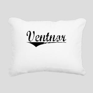 Ventnor, Aged, Rectangular Canvas Pillow