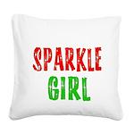 SPARKLEGIRL Square Canvas Pillow