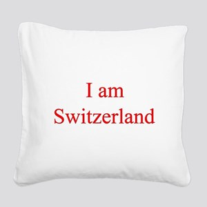 2-switzerland Square Canvas Pillow