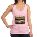 typewriterwriter Racerback Tank Top