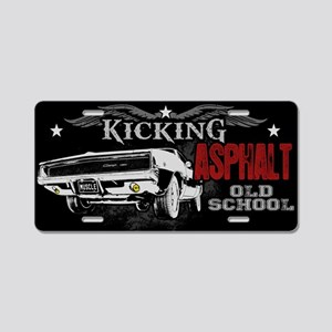 Kicking Asphalt - Charger Aluminum License Plate
