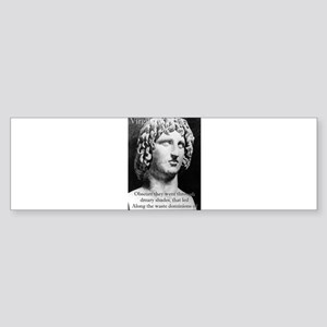 Obscure They Went Through - Virgil Sticker (Bumper