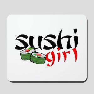 sushi girl Mousepad