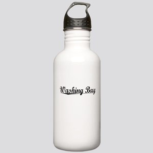 Washing Bay, Aged, Stainless Water Bottle 1.0L