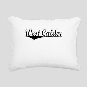 West Calder, Aged, Rectangular Canvas Pillow