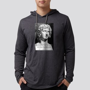Do Not Trust The Horse - Virgil Mens Hooded Shirt