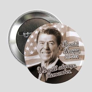 Ronald Reagan Tribute Button
