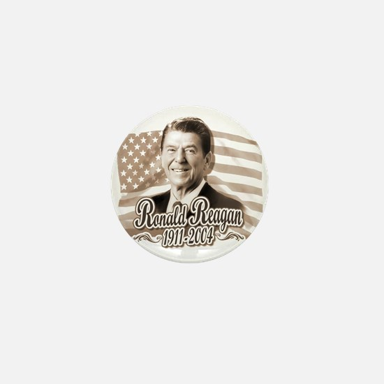 Ronald Reagan Tribute Mini Button