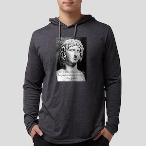 Be Warned - Virgil Mens Hooded Shirt