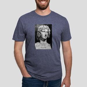 Be Warned - Virgil Mens Tri-blend T-Shirt