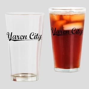 Yaren City, Aged, Drinking Glass